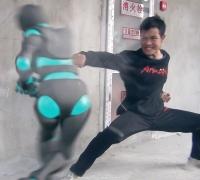 武术机器人肉搏功夫小子动作特效短片